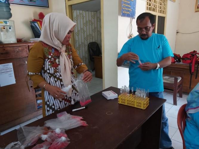 BBPOM Bandar Lampung Monitor Pasar Inpres Kalianda