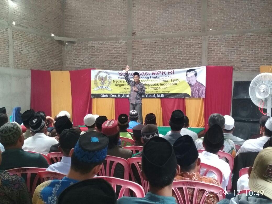 Al Muzzammil Sosialisasi Empat Pilar untuk Menangkal Gerakan PKI