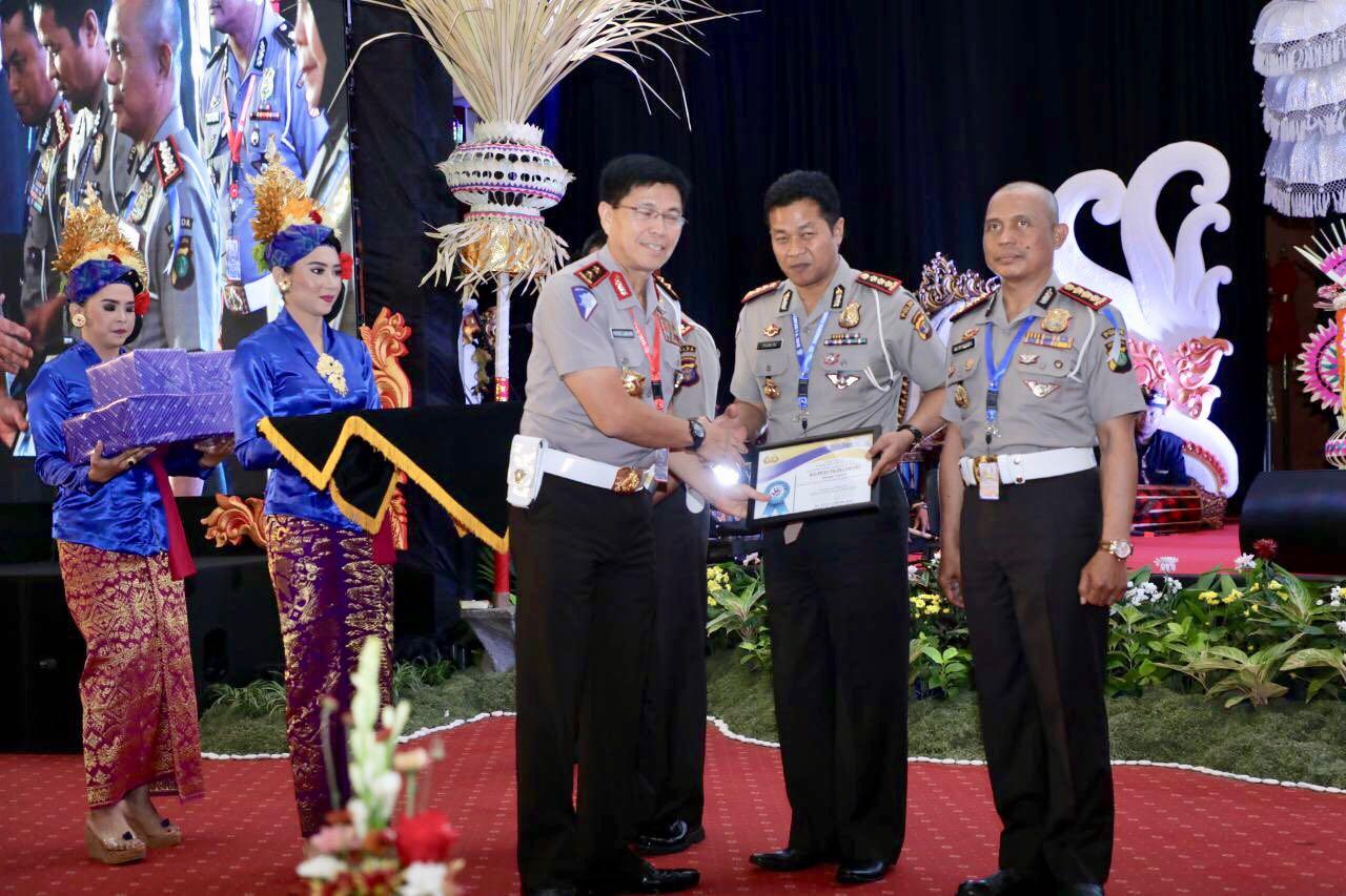 Ditlantas Polda Lampung Raih Peringkat Kedua ILM Pada Rakernis