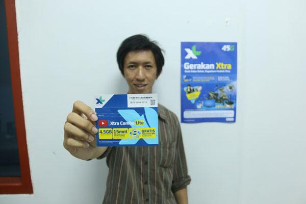 XL Lampung Gelar Jalan Sehat Gerakan Xtra