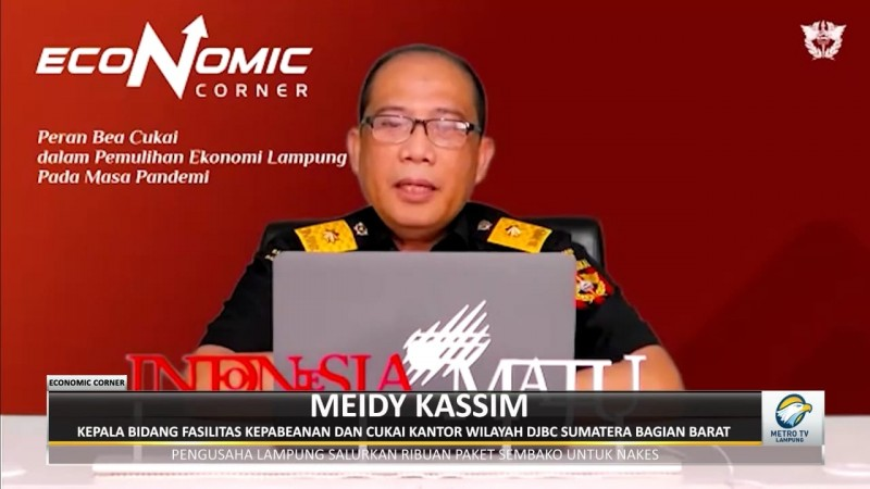 Bea Cukai Pacu Pemulihan Ekonomi Lampung