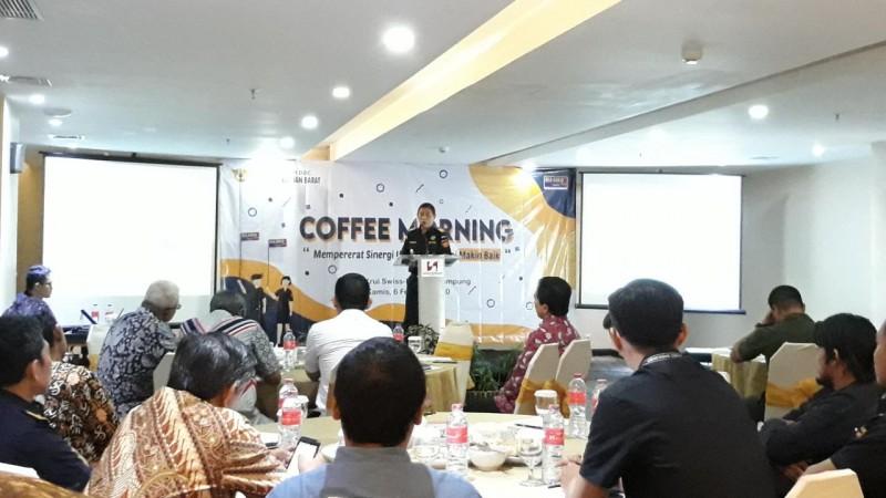 Bea Cukai Sumatera Bagian Barat Pererat Sinergi