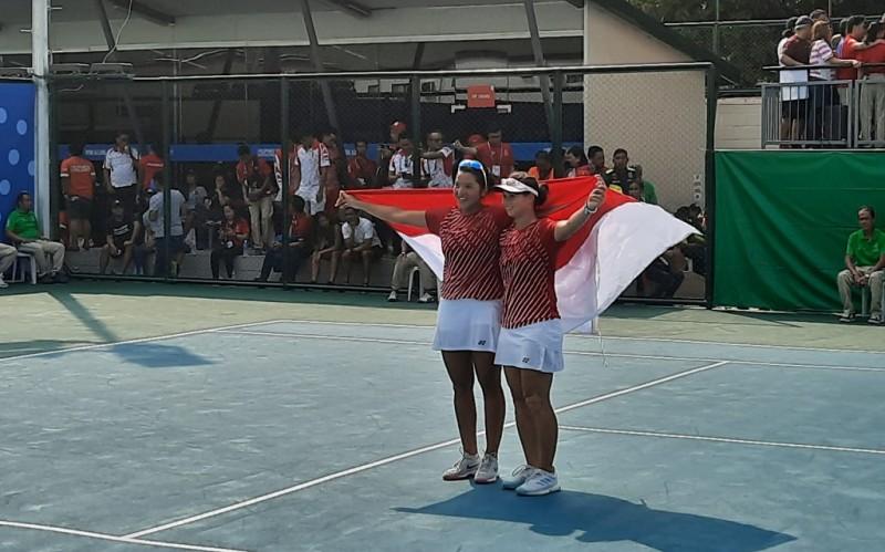 Beatrice Gumulya/Priskilia Rompies Tambah Pundi Emas Indonesia di SEA Games