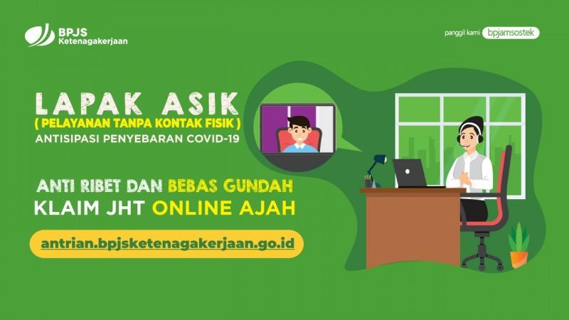 Bebas Pilih Lokasi Kantor Cabang, Klaim JHT Lapak Asik Online Menjadi Lebih Mudah