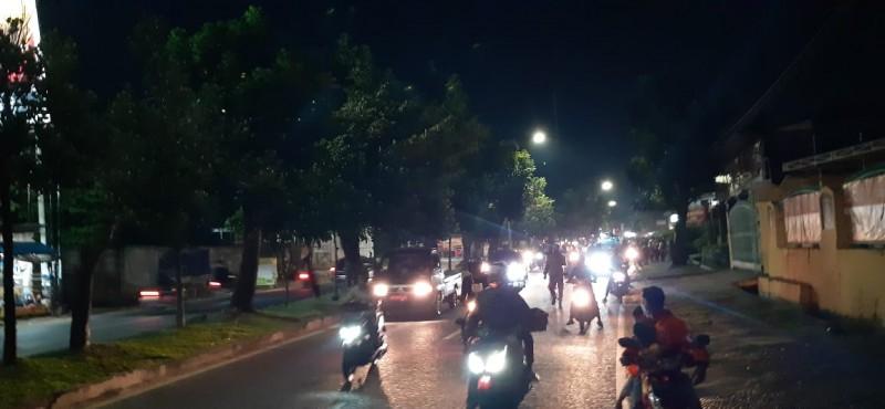Beberapa Kelompok Warga di Bandar Lampung Tetap Gelar Takbir Keliling