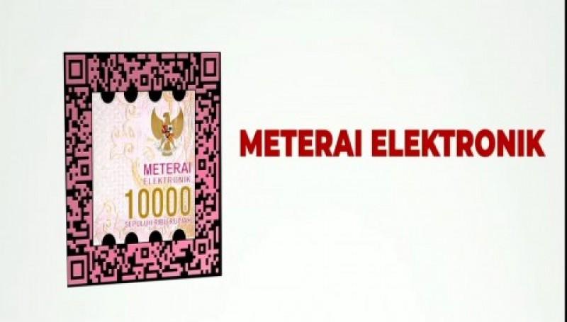 Begini Cara Dapatkan Meterai Elektronik Resmi