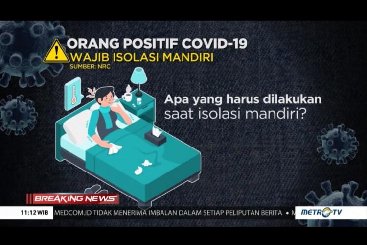 Begini Prosedur dan Aturan Isolasi Pasien Covid-19
