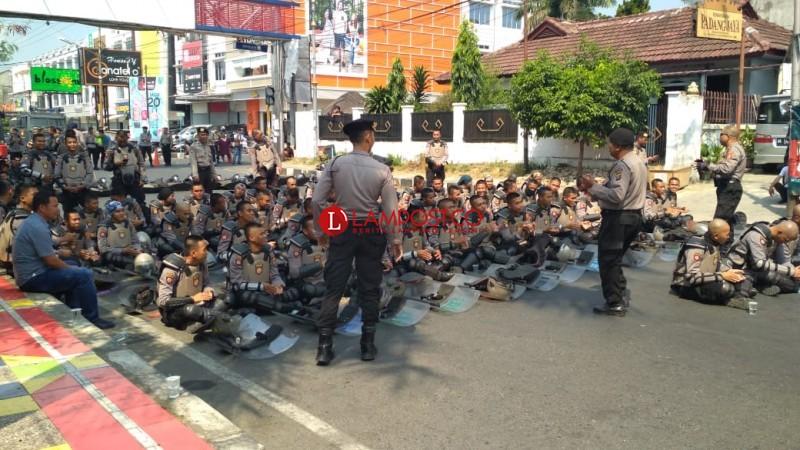 Begini Upaya Pengamanan Massa di Sentra Gakkumdu