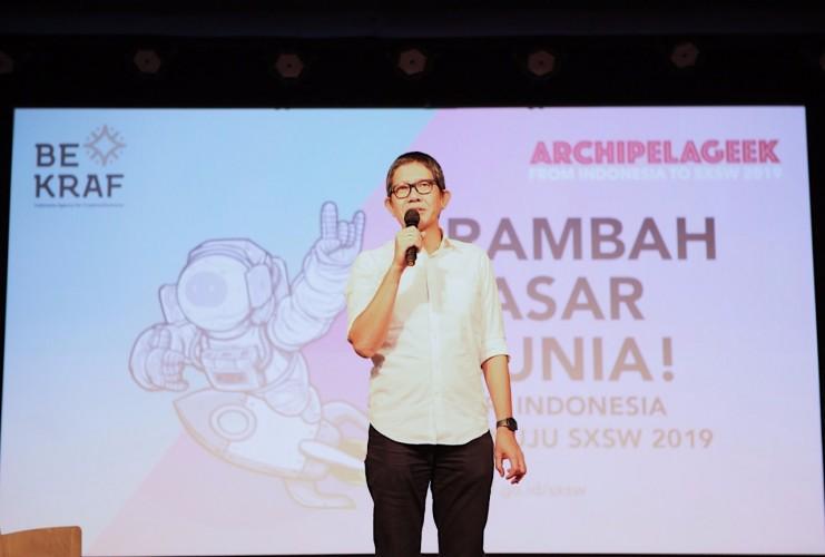 Bekraf Ajak Talenta Kreatif Indonesia Ikuti Ajang SXSW 2019 di Austin