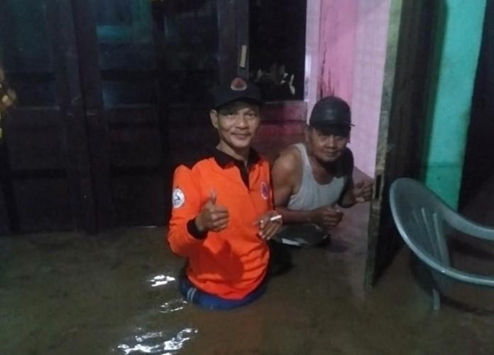 Belasan Rumah di Sidomulyo Terendam Banjir