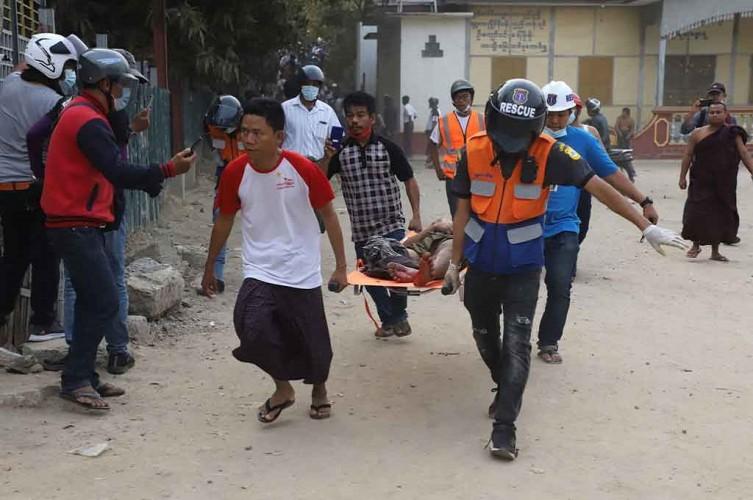 Bentrok Polisi Myanmar dan Demonstran, Dua Orang Tewas