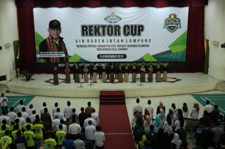 Bentuk Karakter Mahasiswa, UIN Raden Intan Gelar Rektor Cup