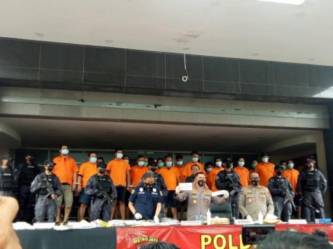Berantas Pungli di Pelabuhan, 24 Preman Ditangkap di Tanjung Priok
