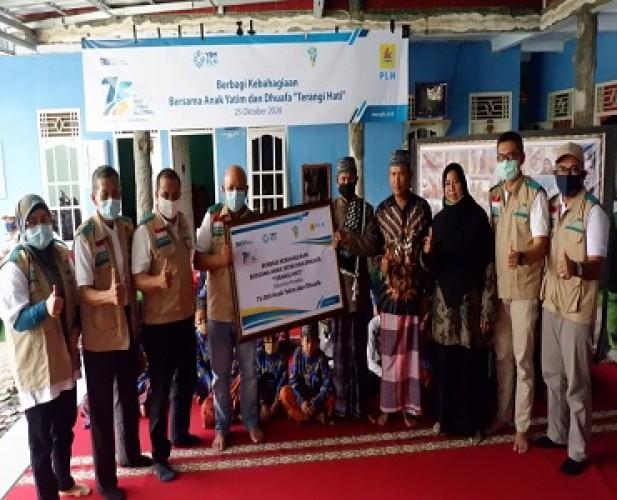Berbagi Kebahagiaan, PLN Salurkan Bantuan untuk 75 Ribu Anak Yatim dan Duafa