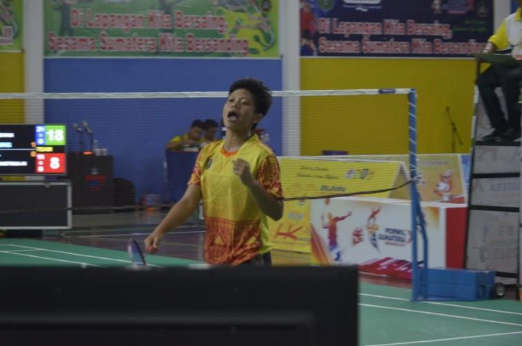 Beregu Putri Bulu Tangkis Lampung Tantang Bengkulu di Final Porwil