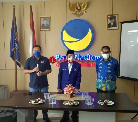 Berjas Biru, Herman HN Resmi Ketua DPW NasDem Lampung