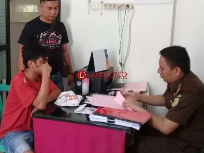 Berkas Kasus Pencurian Motor Dilimpahkan ke Kejari Tanggamus