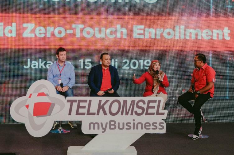 Bermitra dengan Google, Telkomsel Hadirkan Android Zero-touch