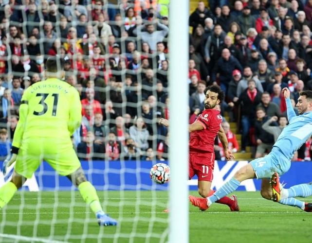 Bertarung Sengit, Liverpool vs Manchester City Berakhir Imbang