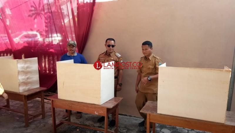 Besok, Pilkades Serentak di 131 Desa di Lamsel