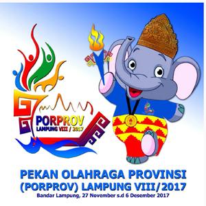 Perolehan Akhir  Medali Porprov VIII/2017