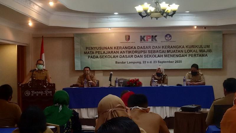 Bimtek Guru Pelajaran Antikorupsi Dilakukan 2021
