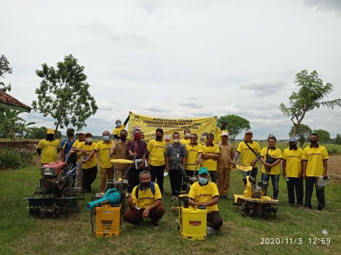 Bimtek Penggunaaan Alsintan Digelar Sejumlah Kabupaten/Kota di Lampung
