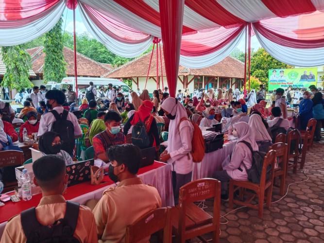 BIN Lampung Inisiasi Vaksinasi Pelajar di Tubaba