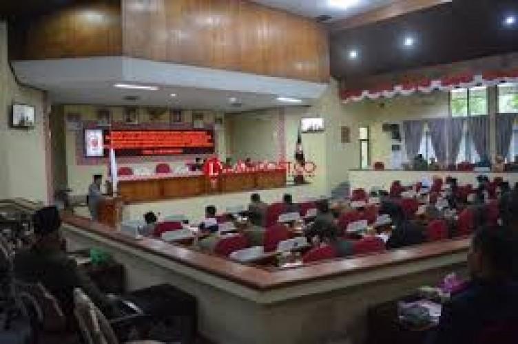 BK DPRD Lambar Akan Bahas Aleg Mangkir Rapat Paripurna
