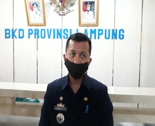BKD Lampung Gelar SKB CPNS 1 Ruangan Hanya Diisi 50-75 Peserta