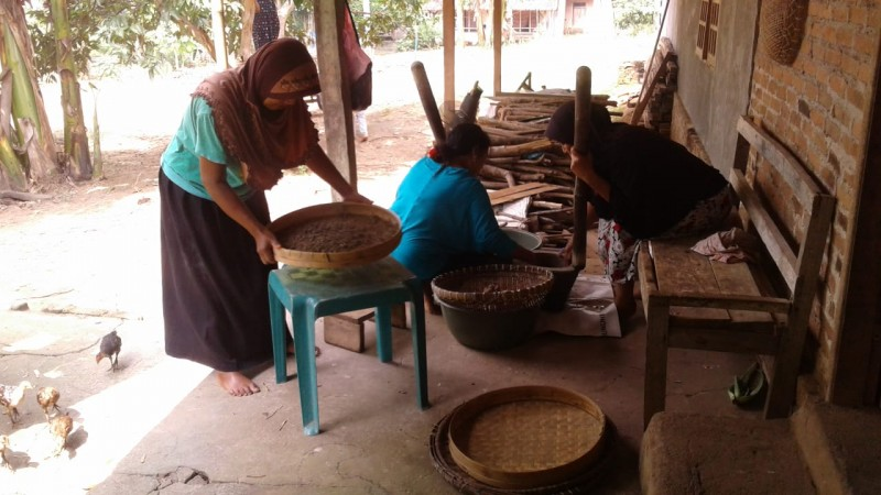 BKL Gesang Lampura Berdayakan Lansia Kembangkan Usaha Tiwul