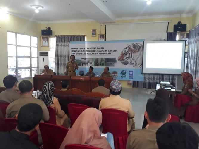 BKSDA Lampung Bentuk Satgas di Pesisir Barat