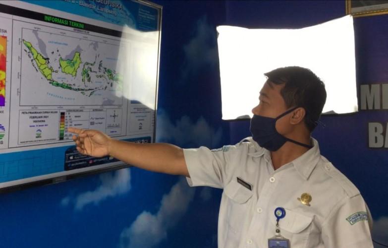 BMKG: Ada Potensi Puting Beliung Susulan di Lampung