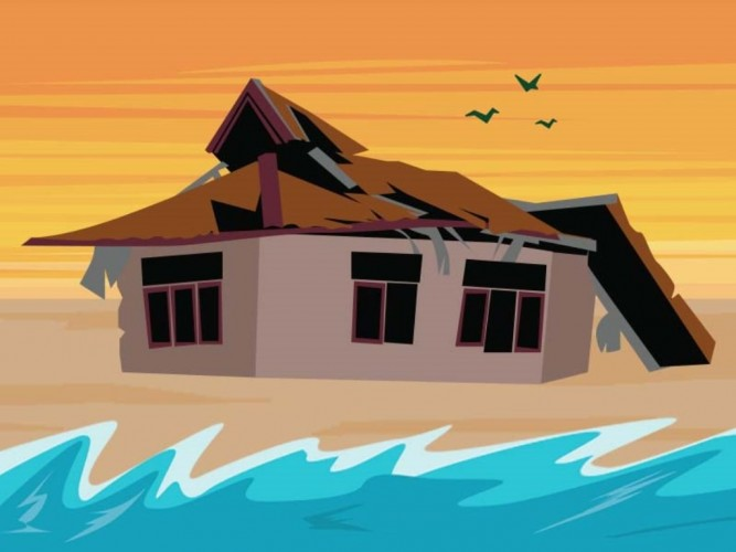 BMKG <i>Warning</i> Angin Kencang dan Gelombang Tinggi