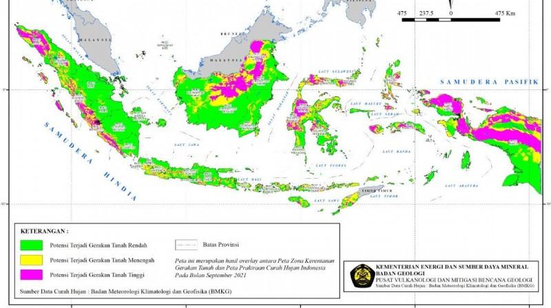 BMKG Ingatkan Potensi Bencana Hidrometeorologi di Lampung