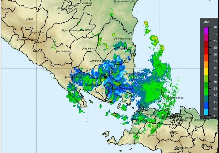 BMKG Lampung: Waspada Hujan Disertai Petir dan Angin Kencang