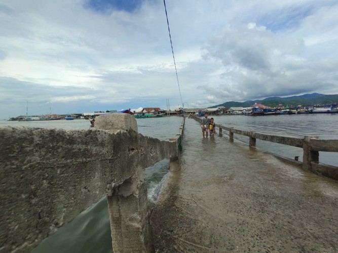 BMKG: Lima Kabupaten/Kota di Lampung Berpotensi Rob
