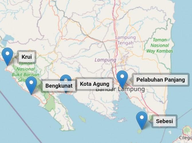 BMKG Miliki 10 Alat Pendeteksi Gempa dan Tsunamidi Lampung