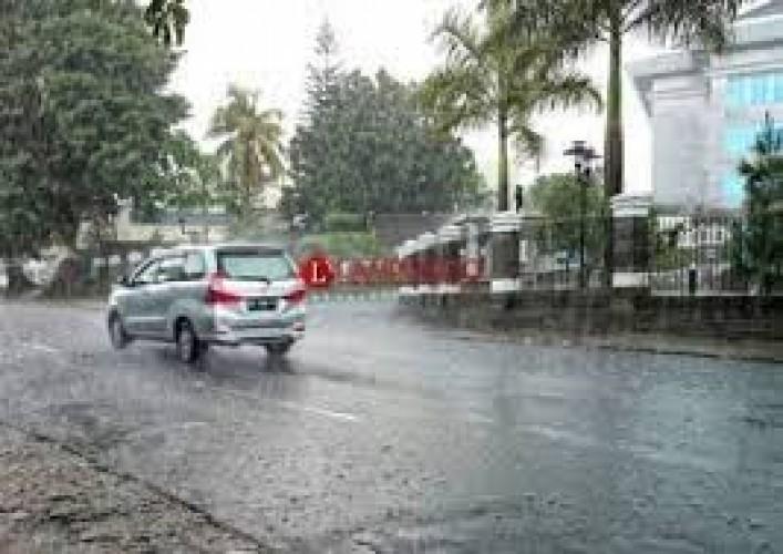 BMKG Prediksi Sebagian Wilayah Lampung Diguyur Hujan Lebat