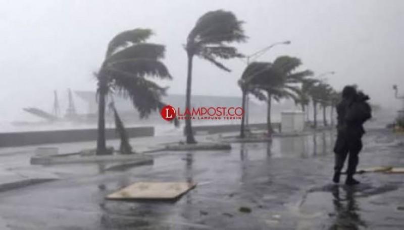 BMKG: Sebagian Wilayah Lampung Diguyur Hujan