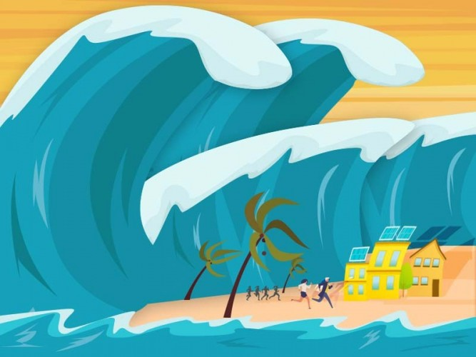 BMKG: Waspada Gelombang Mirip Tsunami di NTT