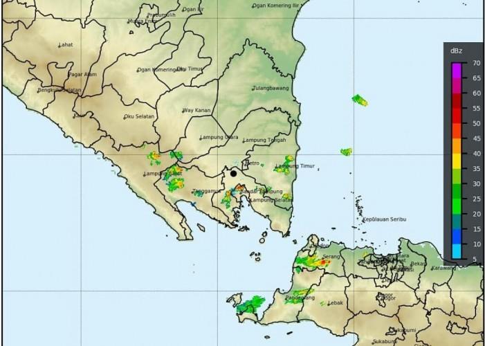 BMKG: Waspada Potensi Hujan dan Siklon Tropis Surigae di Lampung