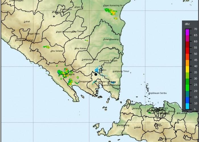 BMKG: Waspadai Hujan Lebat Disertai Angin Kencang