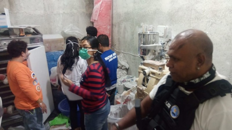 BNN Bongkar Empat Rumah Jadi Pabrik Narkoba