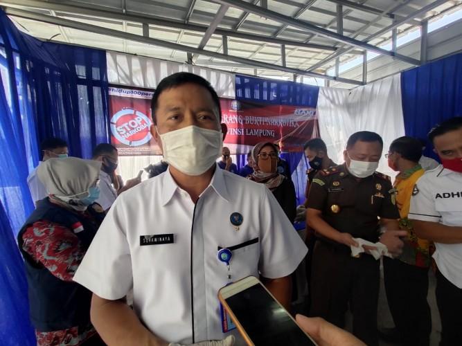 BNN Lampung akan Bentuk Desa dan Kampus Bersih Narkoba