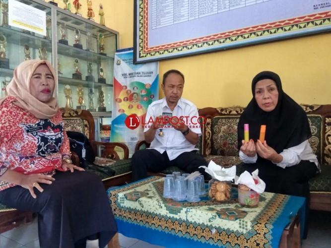 BNN Lampung Uji Kandungan Permen Semprot