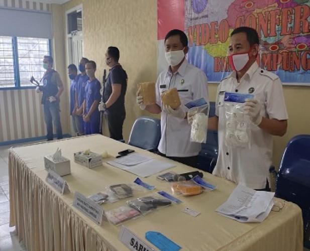 BNNP Lampung Minta Napi Narkoba Skala Besar Dipindahkan ke Nusakambangan