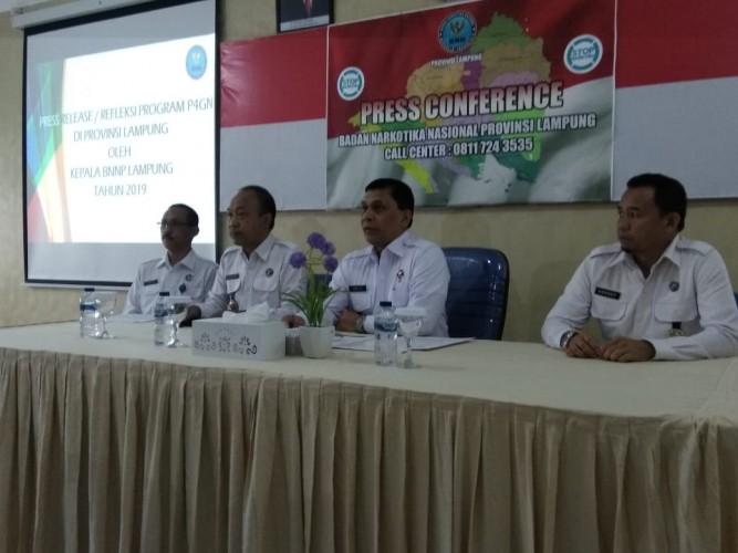 BNNP Lampung Tembak Mati Empat Bandar Narkoba Sepanjang 2019