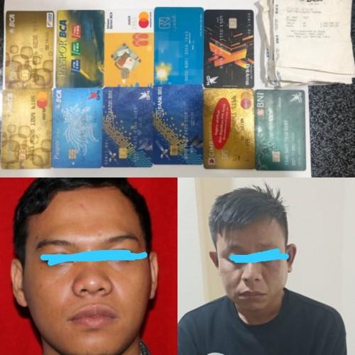 Bobol Mesin ATM, Dua Warga Katibung Diringkus Polisi