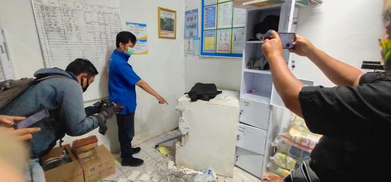 Bobol Minimarket, Pencuri Gondol Uang Hingga Celana Dalam